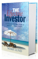 Author Mark Lund book The Effective Investor book design