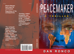 Peace Maker Self Publishing Book Cover Design Sample