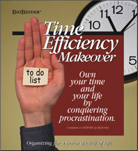 Time Efficiency - Book Cover Design