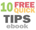 10 Free Quick Tips eBook for Getting Your Book Ready for Publishing