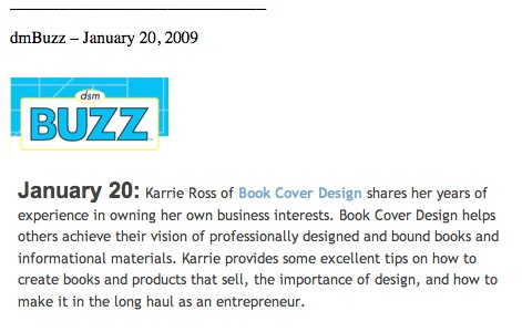 BUZZ Radio Interview for Karrie ross