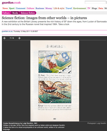 The Guardian Talks about the British Library Science Fiction Show