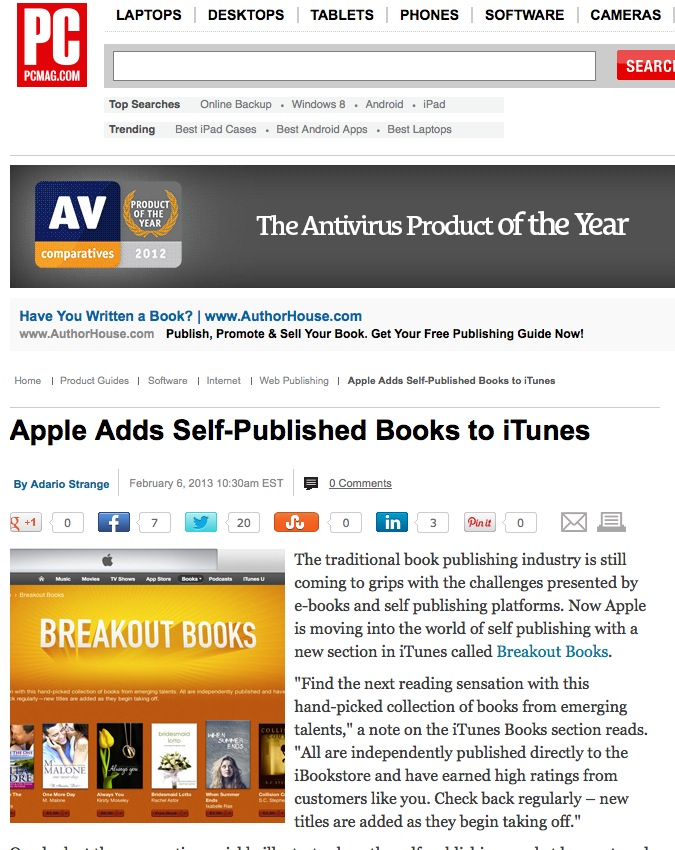 Breakout Books now for self publishing authors
