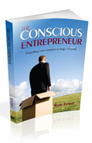 The Conscious Entrepreneur Book Cover Design & Interior