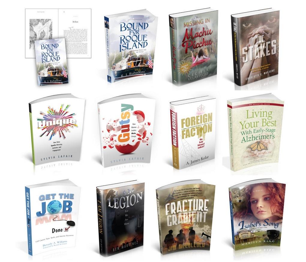 Mobile view of Book Cover Sample Portfolio